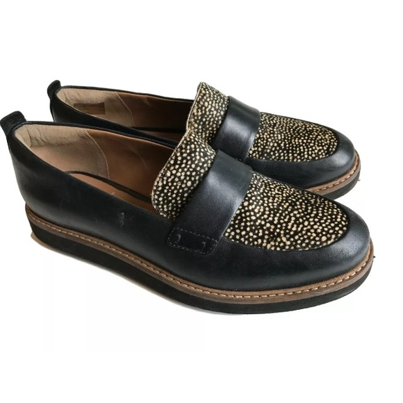 4685204b163 Clarks Shoes - Clarks Artisan Brown Loafers Calf Hair Size 5.5